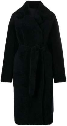Giorgio Brato oversized belted coat