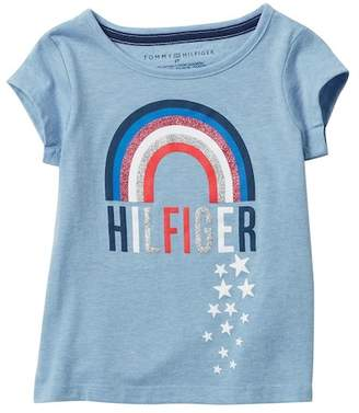 Tommy Hilfiger Rainbow Tee (Toddler Girls)