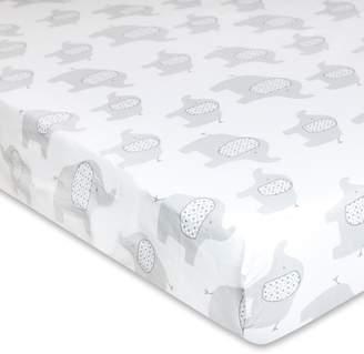 Wendy Bellissimo Hudson Elephant Fitted Crib Sheet