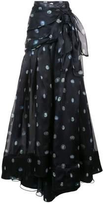 Rosie Assoulin printed ball skirt