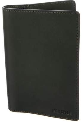 Jack Spade Leather Passport Wallet