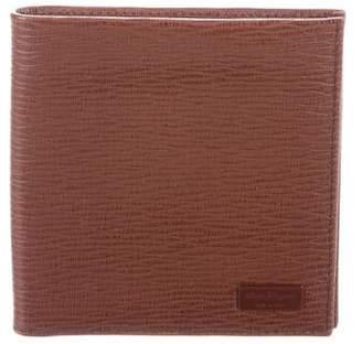 Salvatore Ferragamo Textured Leather Bifold Wallet