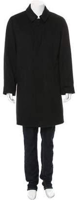 Loro Piana Sheared Mink Fur-Lined Cashmere Coat