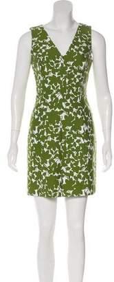 Michael Kors Printed Mini Dress
