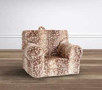 ... Pottery Barn Kids Fawn Fur My First Anywhere Chair