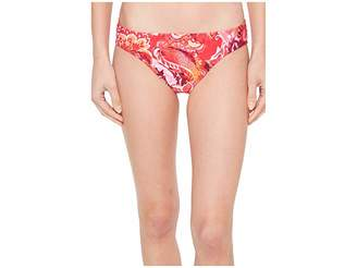 Lauren Ralph Lauren Exotic Paisley Printed Hipster Bottom Women's Swimwear