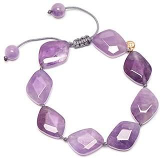 Lola Rose Women Purple Coral Amethyst Strand Bracelet of Length 18cm 693219