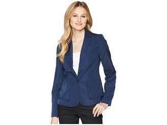 Kenneth Cole New York Two-Button Blazer Women's Jacket