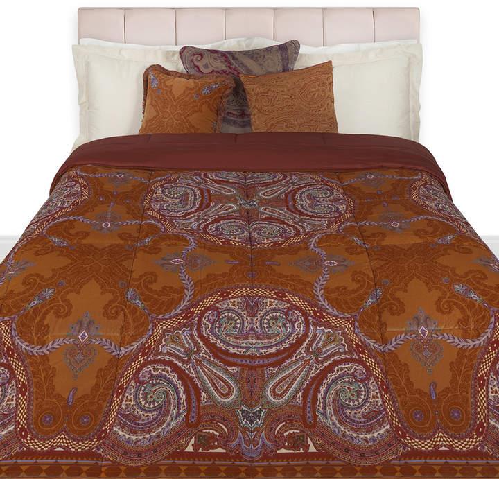 Cabra Quilted Bedspread - 270x270cm - Orange