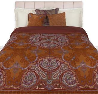 Etro Cabra Quilted Bedspread - 270x270cm - Orange