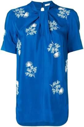 Erdem floral-embroidered top
