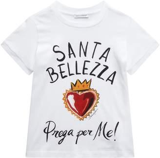 Dolce & Gabbana Santa Bellezza Print T-Shirt