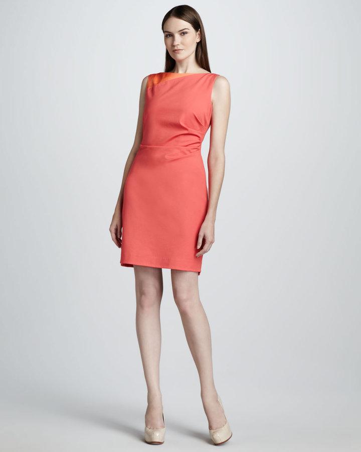 Elie Tahari Olympia Sheath Dress