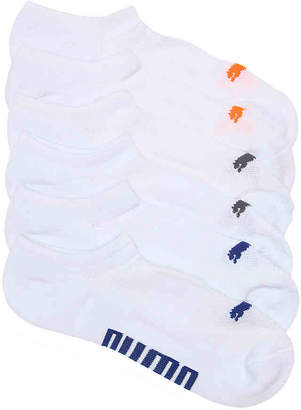 Puma Invisible No Show Socks - 6 Pack - Men's