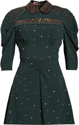 Miu Miu (ミュウミュウ) - Miu Miu studded Sablé dress