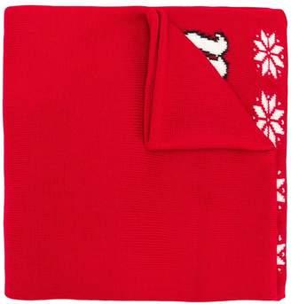 Philosophy di Lorenzo Serafini intarsia knit scarf