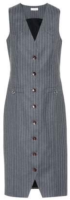 Altuzarra Naomi pinstripe wool-blend dress