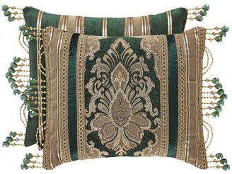 J Queen New York J Queen Emerald Isle Boudoir Decorative Pillow