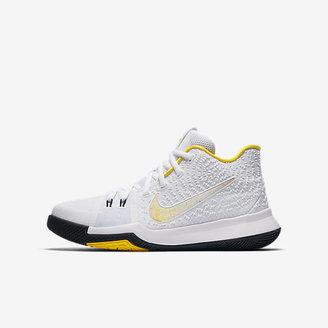 Kyrie 3 N7 Big Kids' Basketball Shoe $100 thestylecure.com
