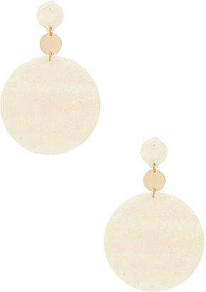 Ettika White Stone Earrings