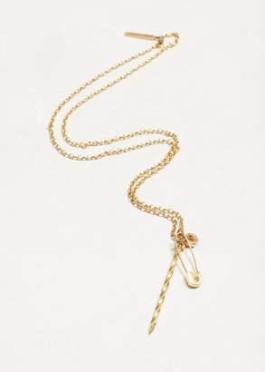 Lauren Klassen N1 Safety Pin Nail Necklace