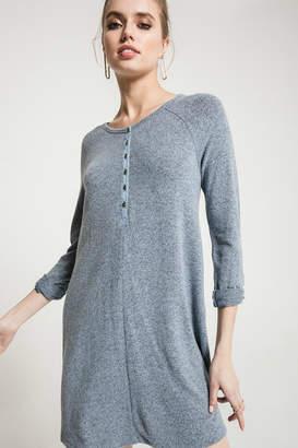 Z Supply Marled Henley Dress