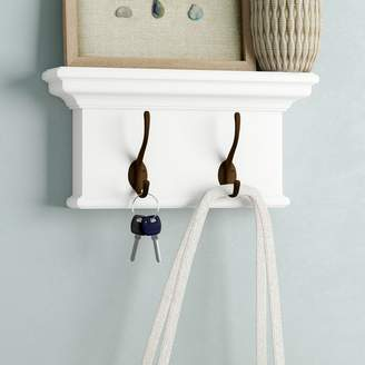 Beachcrest Home Amityville Wall Mounted Coat Rack