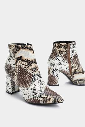 Nasty Gal Don't Take the Hiss Snake Boot