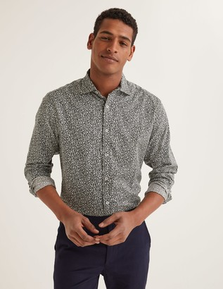 Boden Printed Twill Shirt