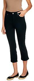 Isaac Mizrahi Live! Petite Icon Grace CropDenim Jeans