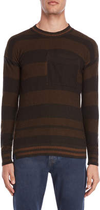 Imperial Star Striped Pocket Sweater