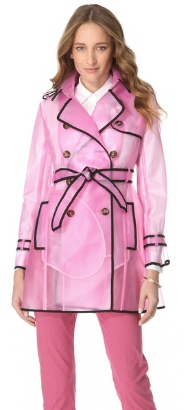 RED Valentino Transparent Raincoat