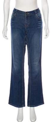 Calvin Klein Jeans Mid-Rise Wide-Leg Jeans
