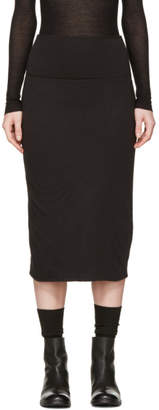 Raquel Allegra Black Tube Skirt