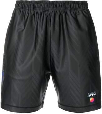 Alexander Wang casual logo shorts