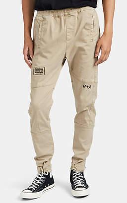 865d3d2e09866 RtA Men's Graphic Cotton-Blend Cargo Jogger Pants - Beige, ...