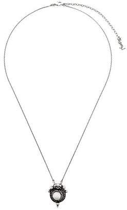 Saint Laurent antique pearl necklace