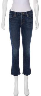 Vince Low-Rise Flare-Leg Jeans