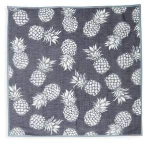 Valentino Pineapple Silk Scarf
