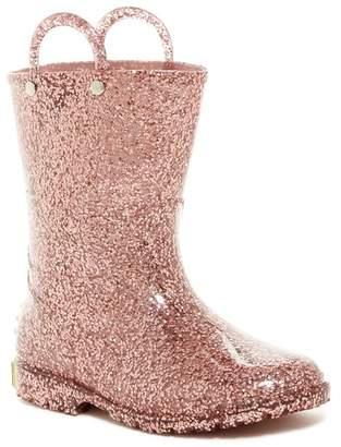 Western Chief Glitter Waterproof Rain Boot (Toddler & Little Kid)