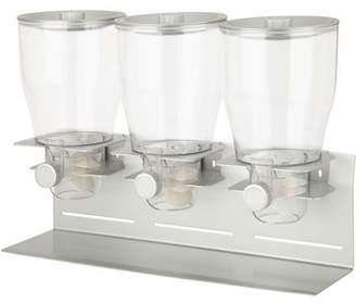 Honey-Can-Do Zevro by Professional Series Triple Canister Dispenser