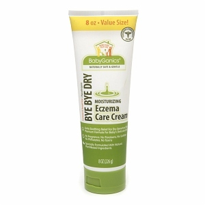 BabyGanics Bye, Bye Dry Eczema Lotion, Fragrance Free