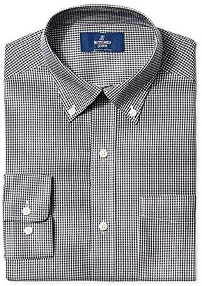 Buttoned Down Men's Classic Fit Button Collar Pattern