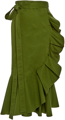 Alexis Daniel Ruffled Skirt $295 thestylecure.com