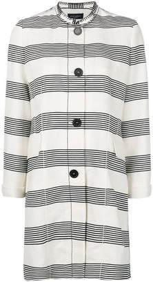 Piazza Sempione striped coat