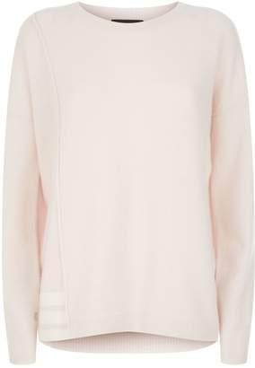 ATM Anthony Thomas Melillo Stripe Side Cashmere Sweater