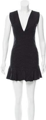MLM Label Leopard Mini Dress