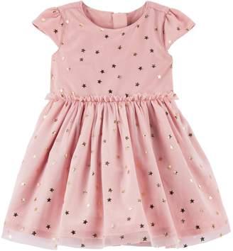 Carter's Baby Girl Star Print Dress