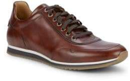 Magnanni Paneled Leather Sneakers