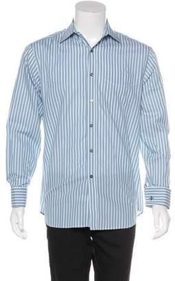 Paul Smith Striped French Cuff Dress Shirt
